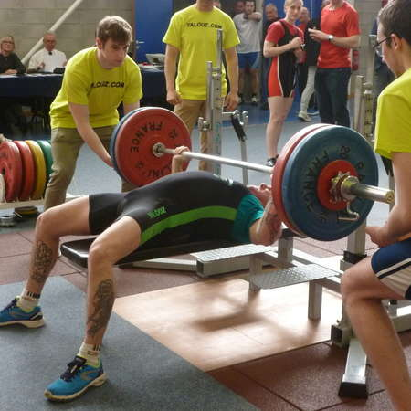 Cyrille a 112,5kg